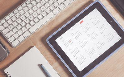 Agenda/Calendrier Paie & RH